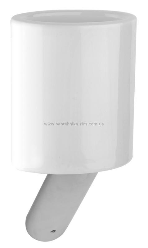 Купить Стакан подвесной хром Gessi Ovale (25608.031) в santehnika-rim.com.ua
