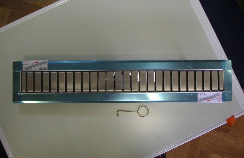 Купить TECElinus (15100070) Дренажный канал в комплекте с решеткой straight 700 мм